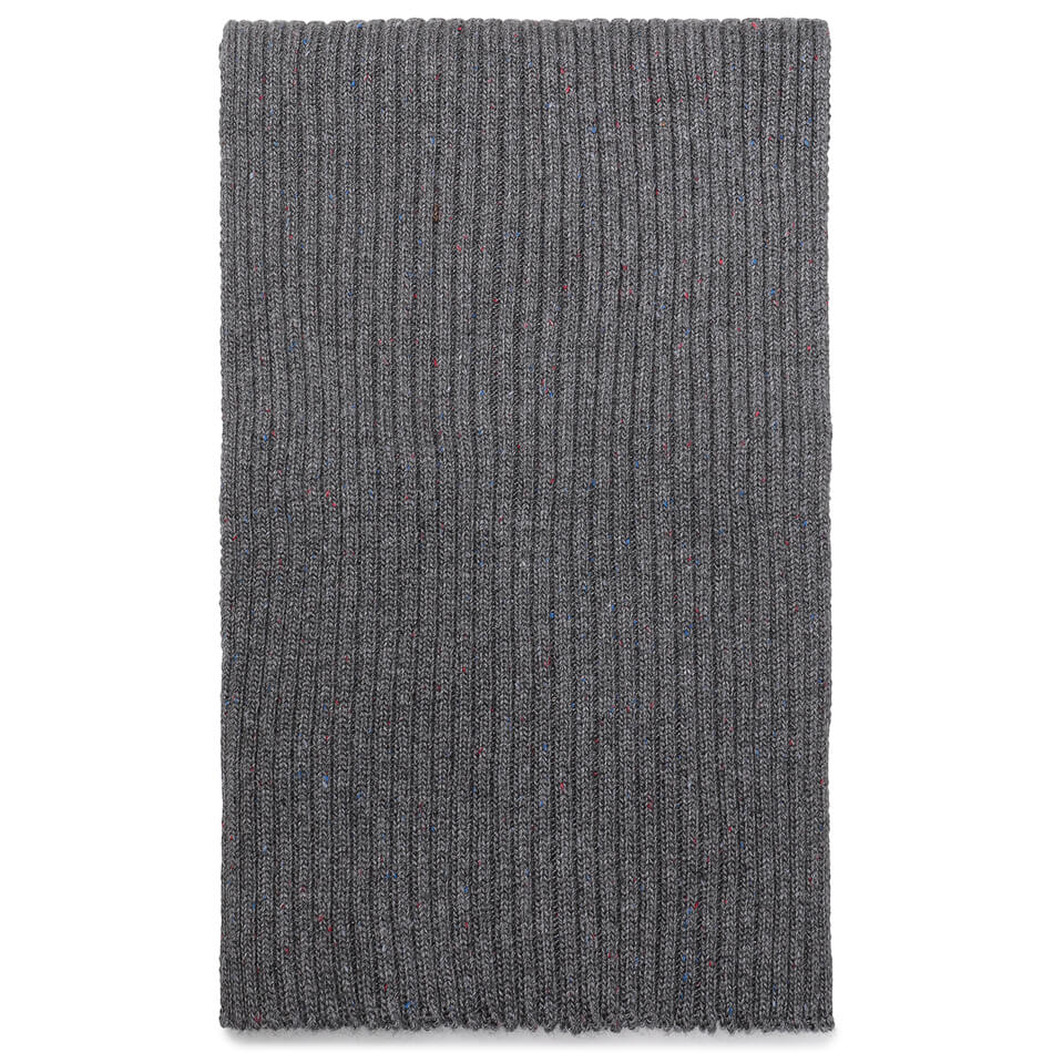 Подарочный набор Barbour Liskeard Beanie And Scarf (Charcoal)