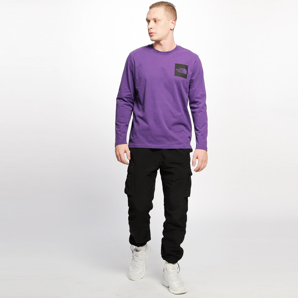 Мужской лонгслив The North Face Fine (Hero Purple)