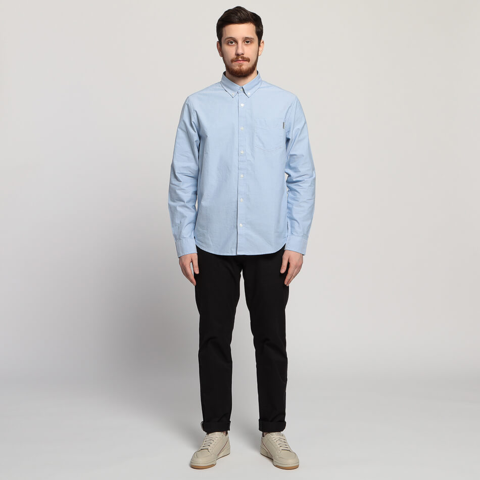 Мужская рубашка Carhartt Button Down Pocket (Bleach)