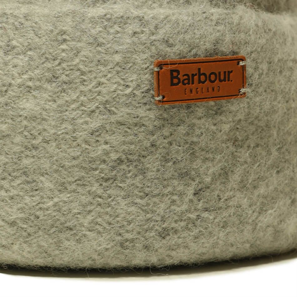 Шапка Barbour Lambswool Bobbble Beanie (Grey)