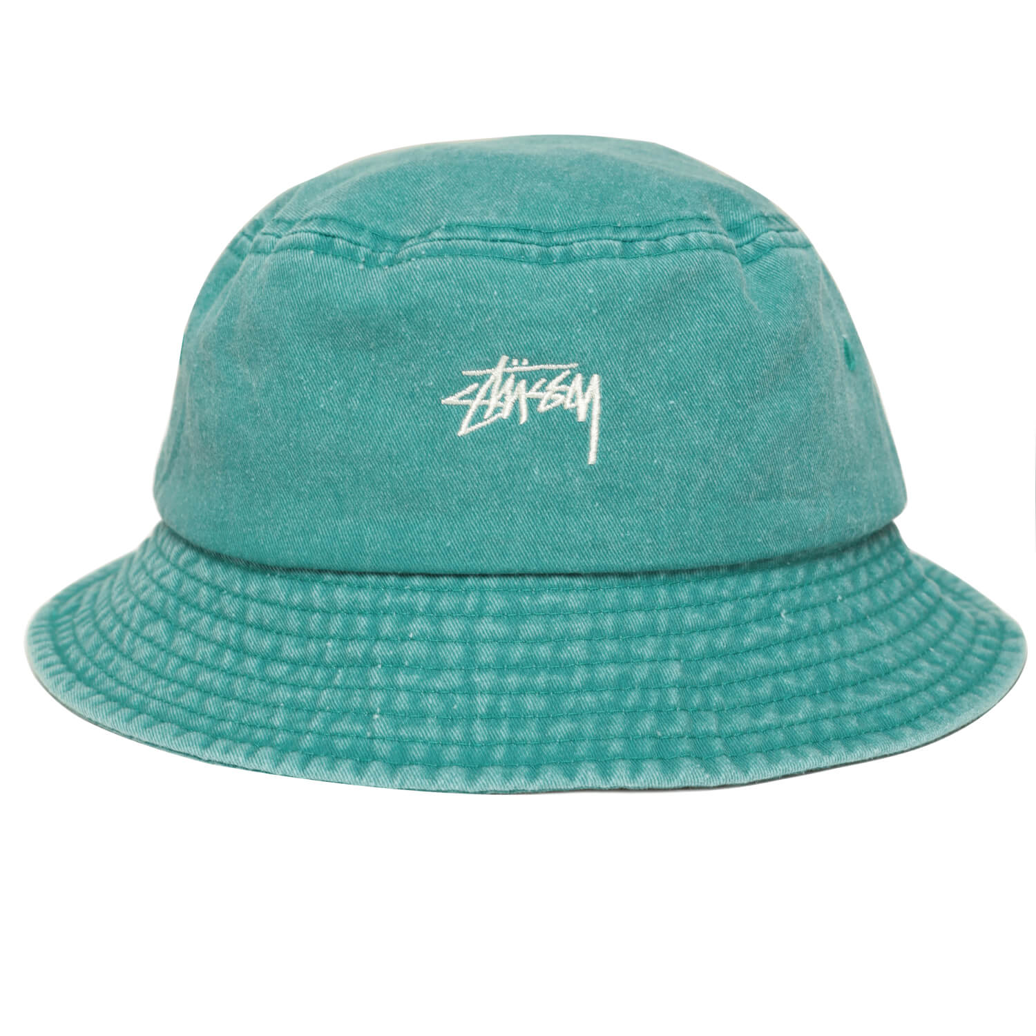 Панама Stussy Stock Washed (Green)