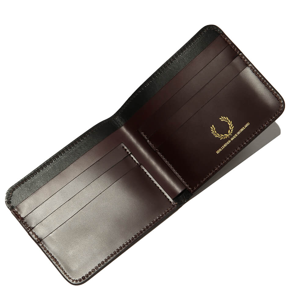 Кошелек Fred Perry Leather Billfold (Brown)