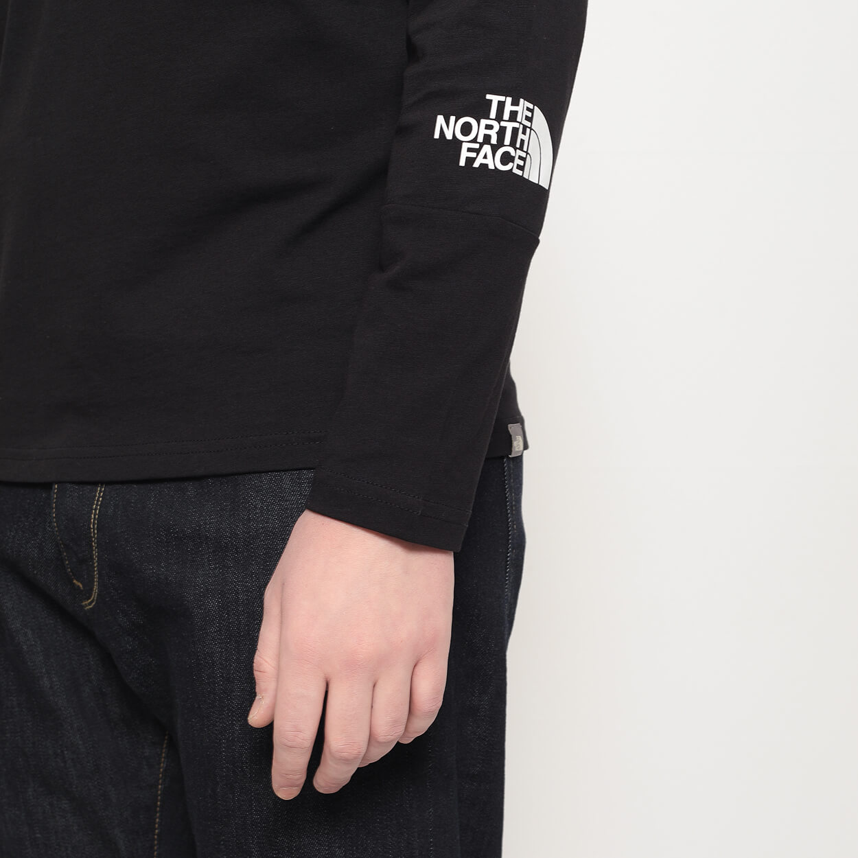 Мужской лонгслив The North Face Light (Black)