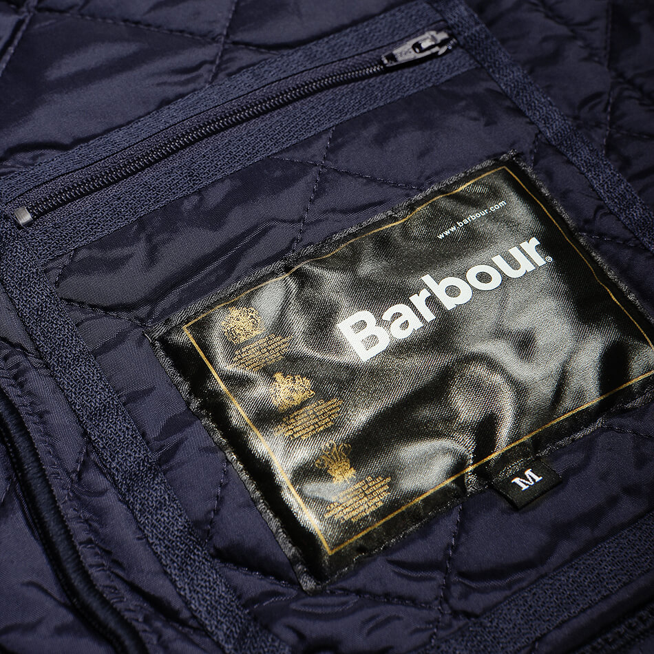 Мужская куртка Barbour Heritage Liddesdale Quilted (Navy)