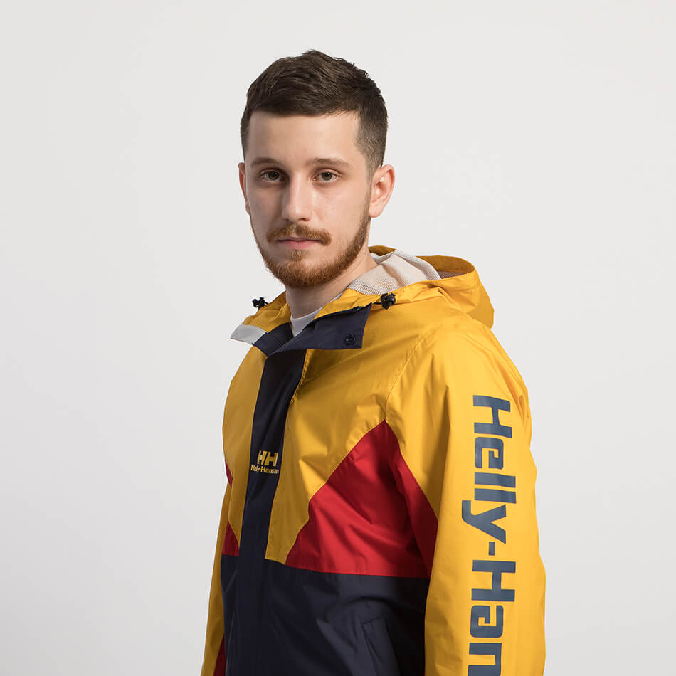 Мужская куртка Helly Hansen Urban Windbreaker 2.0 (Eseential Yellow)
