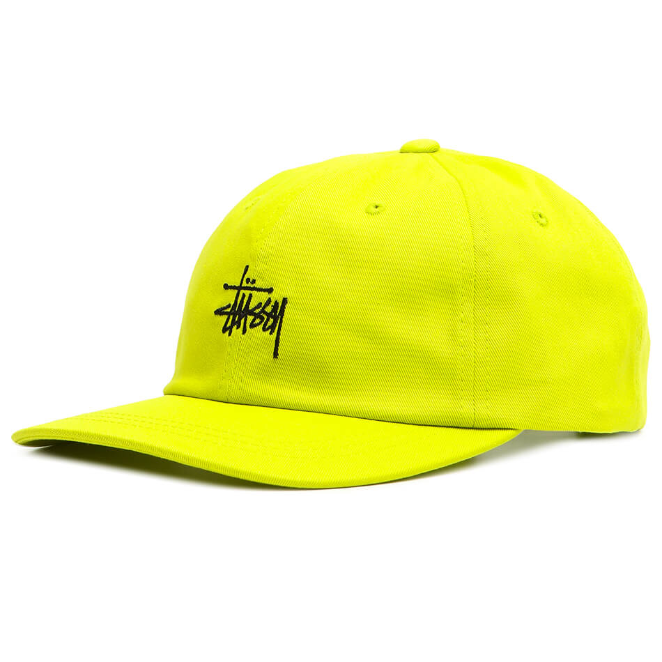 Кепка Stussy Low Pro (Lime)