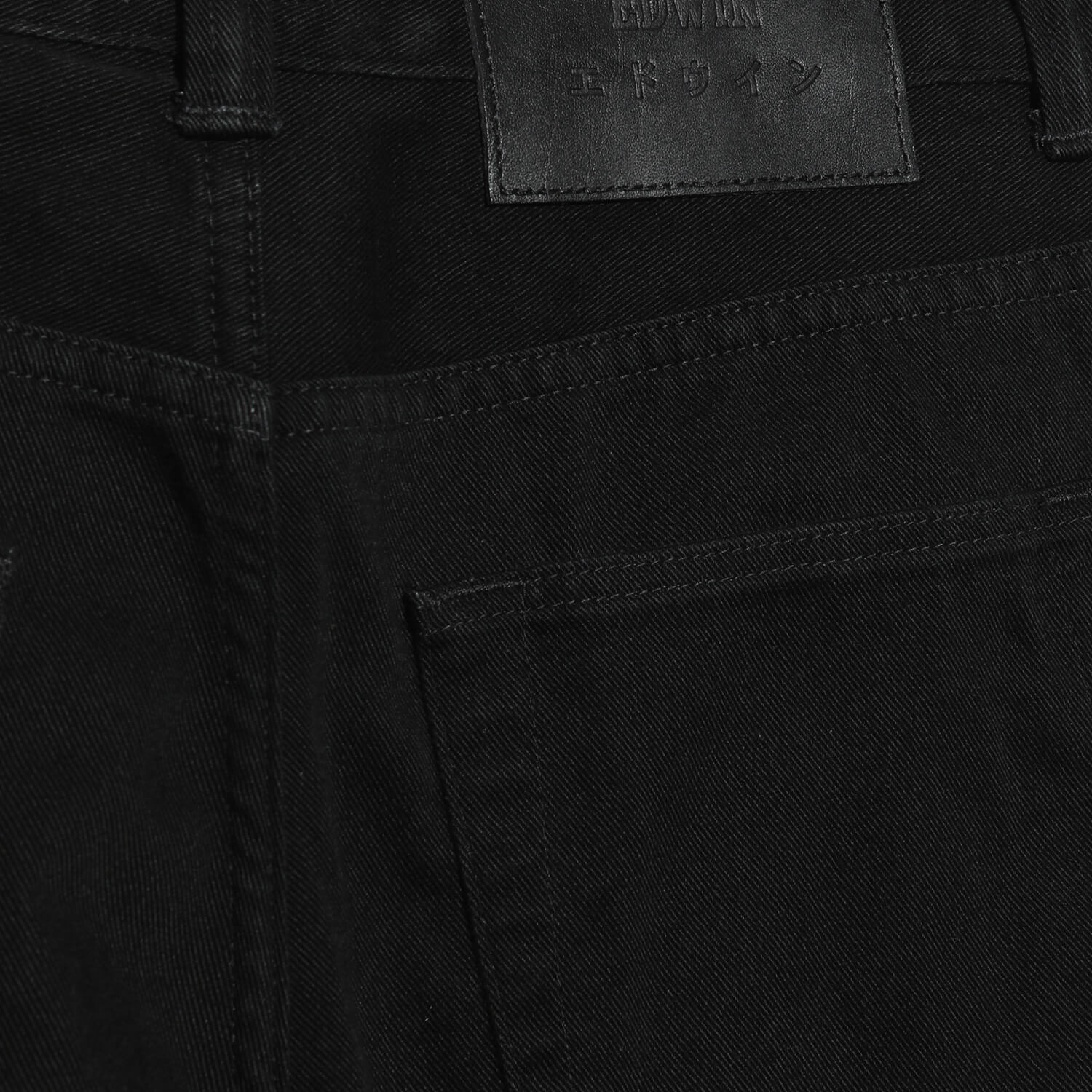 Мужские джинсы Edwin Cropped Tapered (Black)