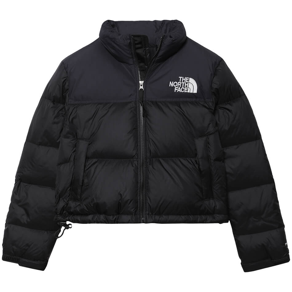 Женская куртка The North Face Nuptse Crop (Black)