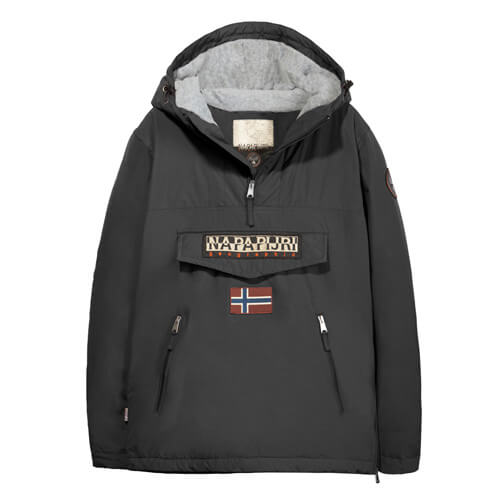 Женский анорак Napapijri Rainforest Pocket 1 (Black)
