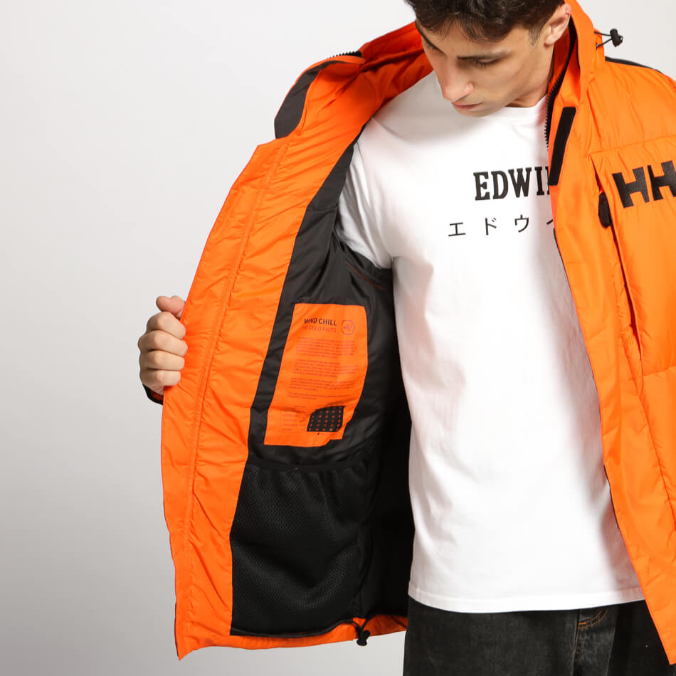 Мужская парка Helly Hansen Arctic Patrol Down (Bright Orange)