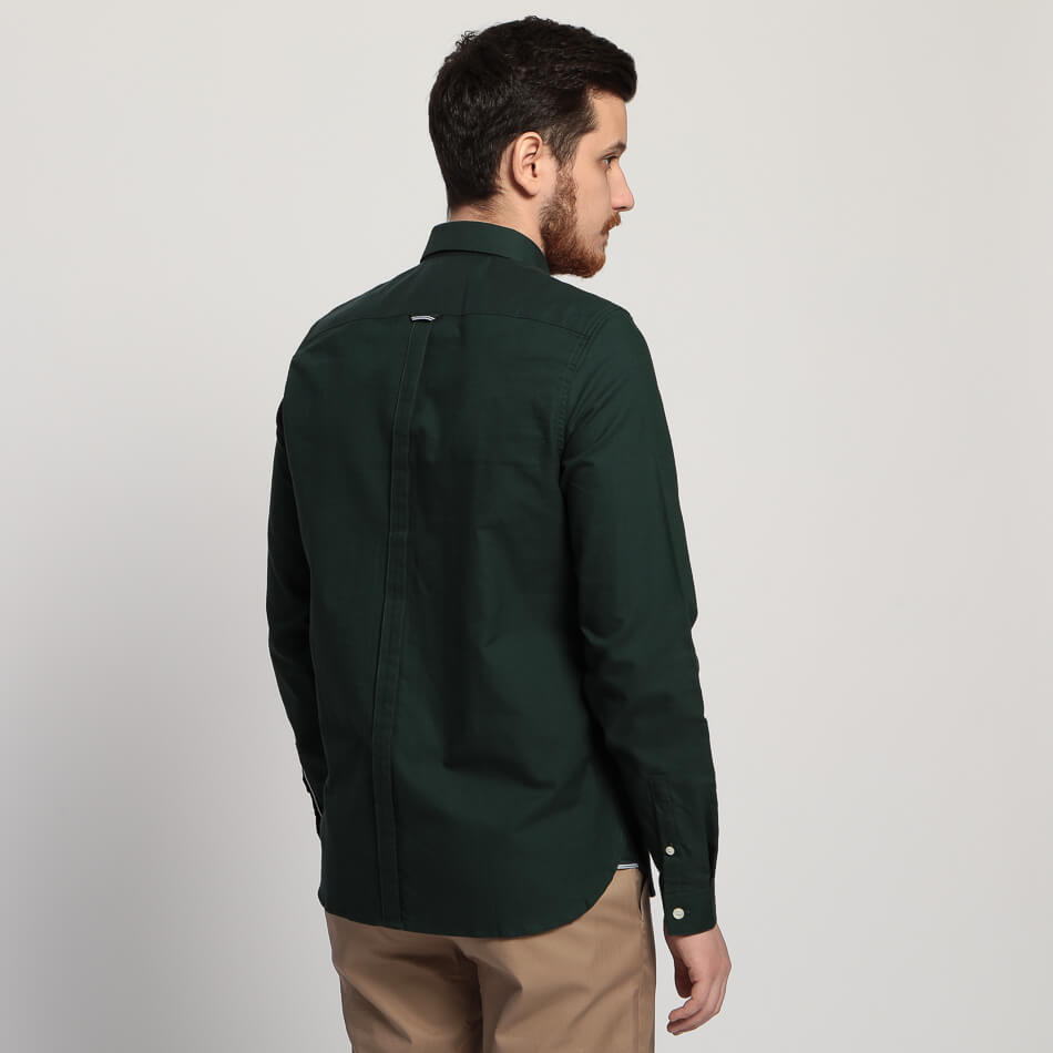 Мужская рубашка Fred Perry Classic Oxford (Mallard)