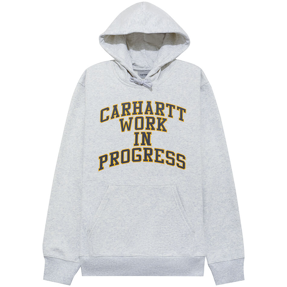 Женская толстовка Carhartt WIP Division Hooded (Ash Heather)