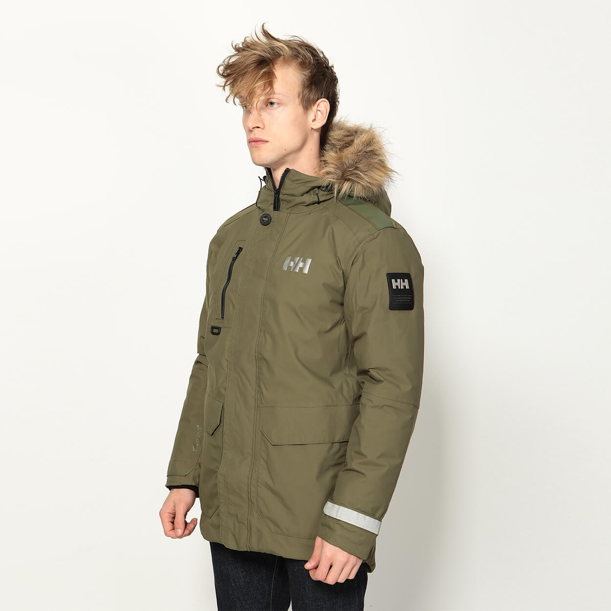 Мужская куртка Helly Hansen Svalbard (NY Green)
