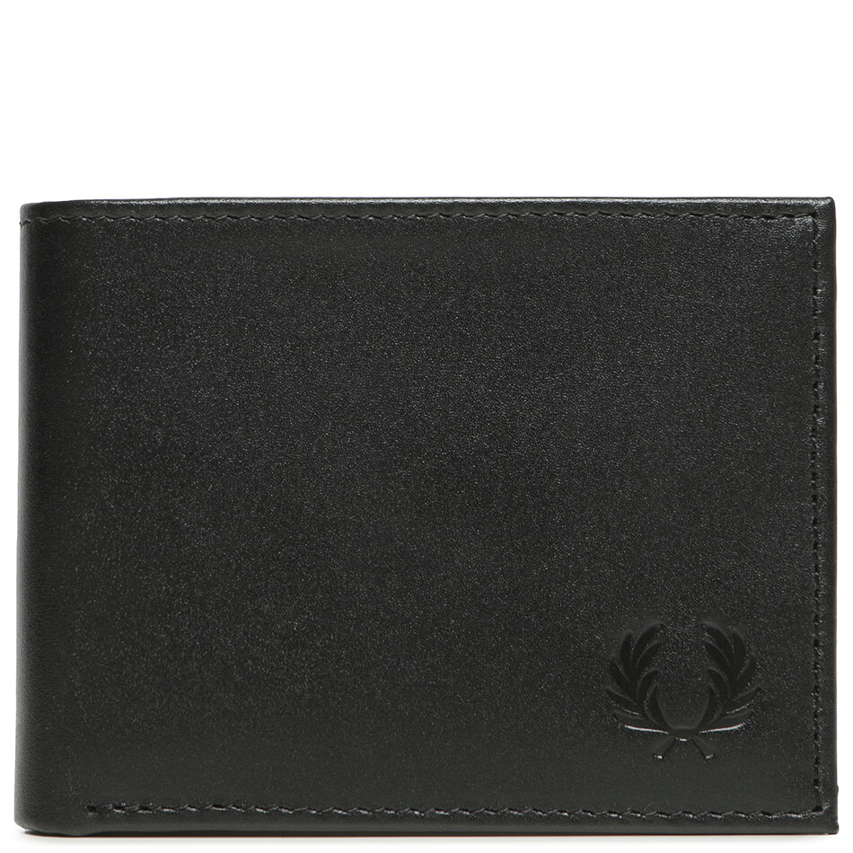 Кошелек Fred Perry Leather Billford (Black)