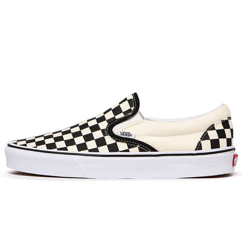 Кеды Vans Slip-On  (Black - White)