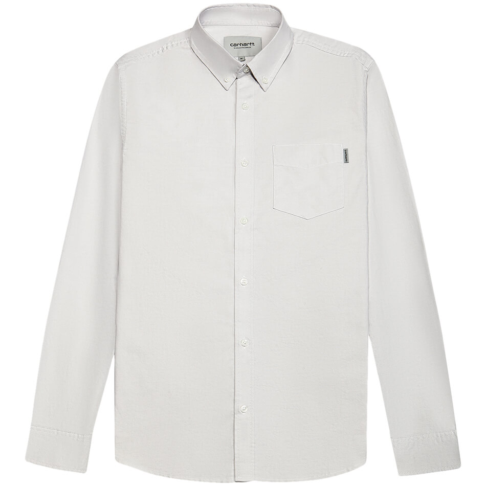 Мужская рубашка Carhartt WIP Button Down Pocket (Cinder)