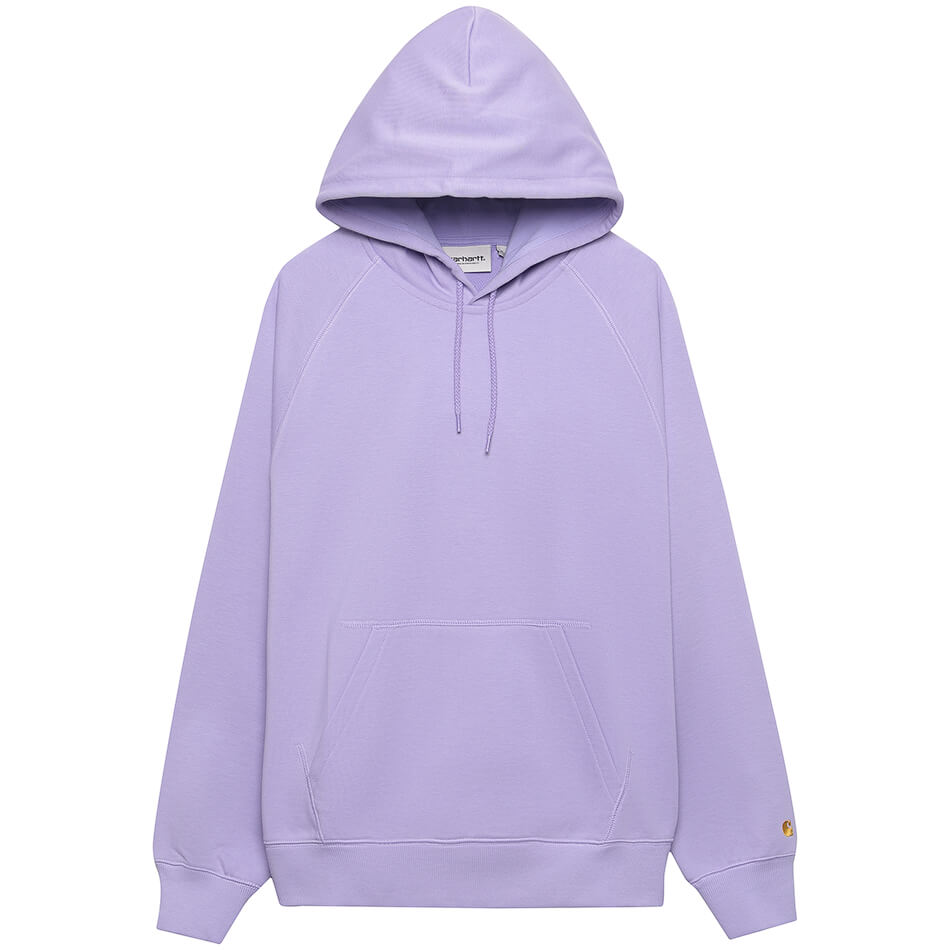 Женская толстовка Carhartt WIP Hooded Chase (Soft Lavender - Gold)