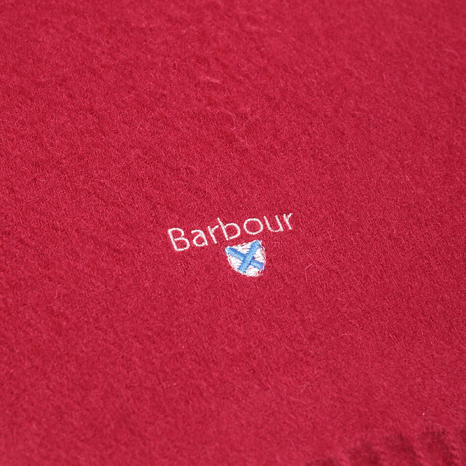 Шарф Barbour Plain Lambswool (Red)