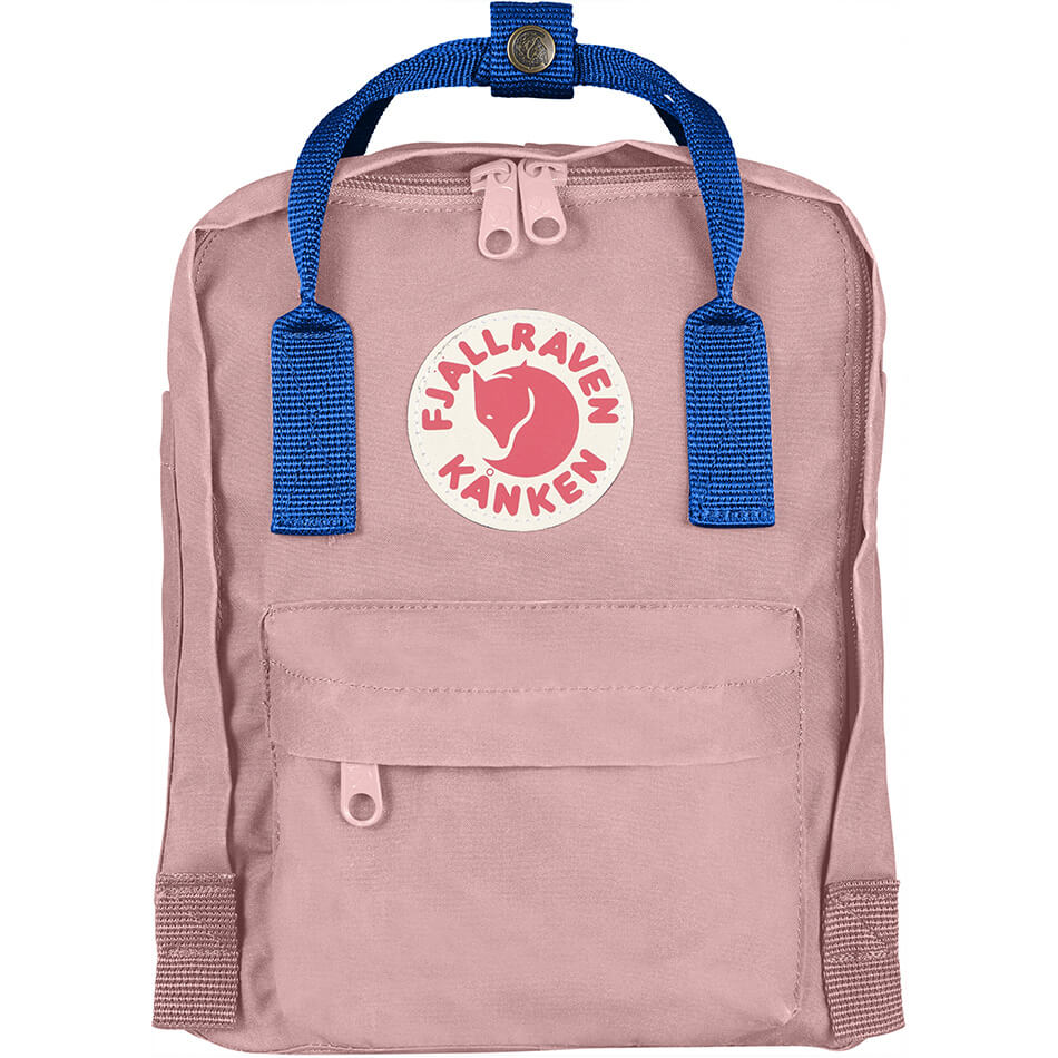 Рюкзак Fjallraven Kanken Mini (Pink-Air Blue)