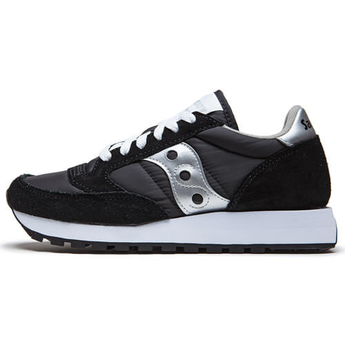 Кроссовки Saucony Jazz Original (Black-Silver)