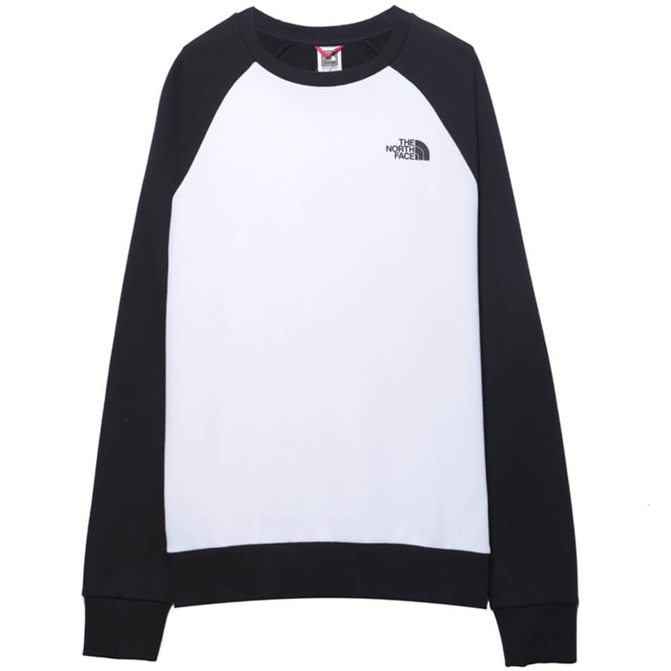 Мужская толстовка The North Face Raglan Redbox Crew (White)