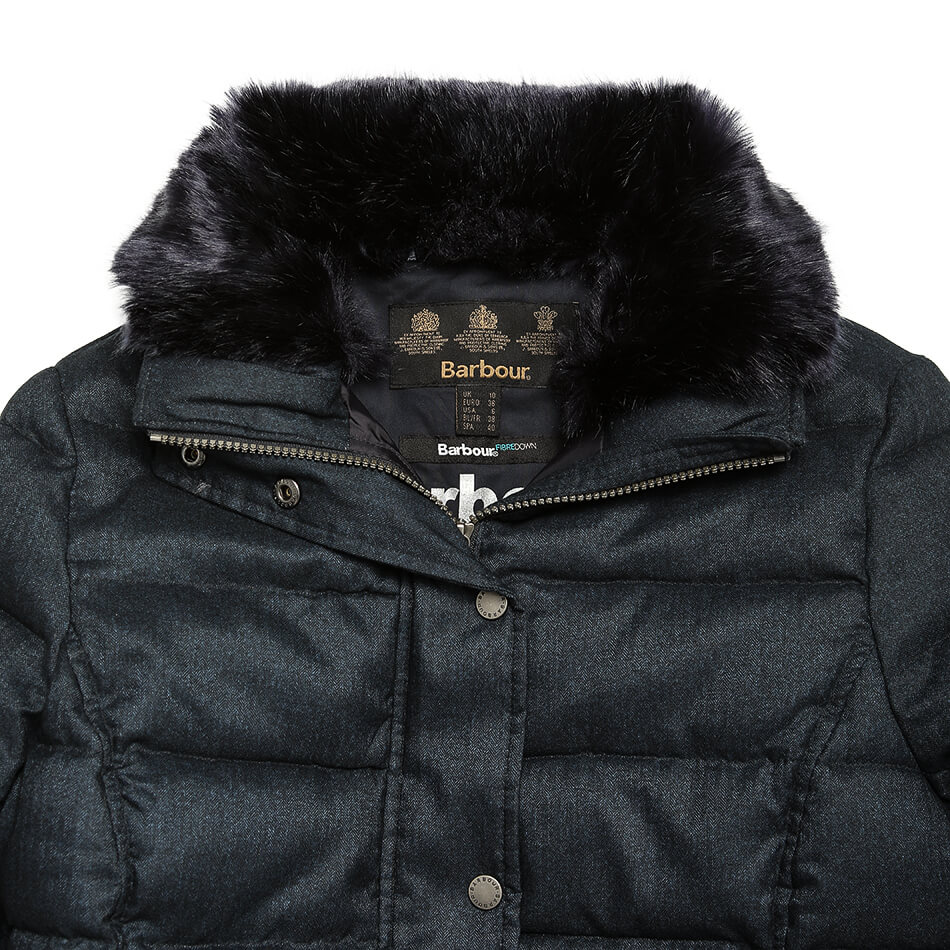 Женская куртка Barbour Langstone Quilted (Navy)