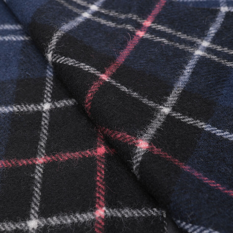 Шарф Barbour Tartan Lambswool (Navy-Red)
