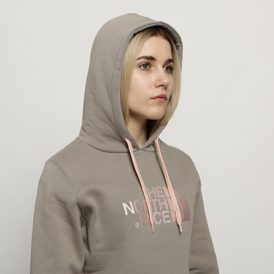 Женская толстовка The North Face Drew Peak Pullover (Grey)