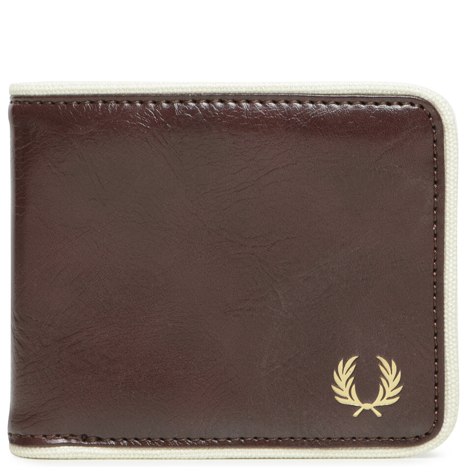 Кошелек Fred Perry Leather Billfold (Port)