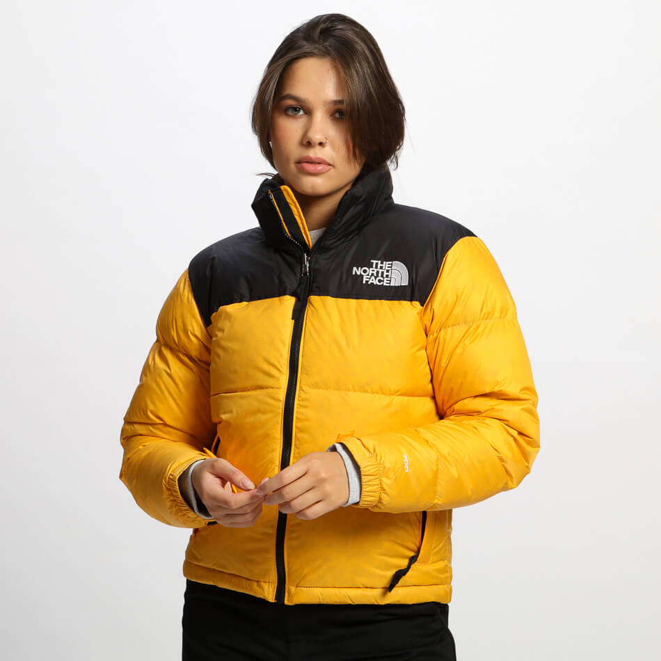 Женская куртка The North Face 1996 Retro Nuptse (Yellow)