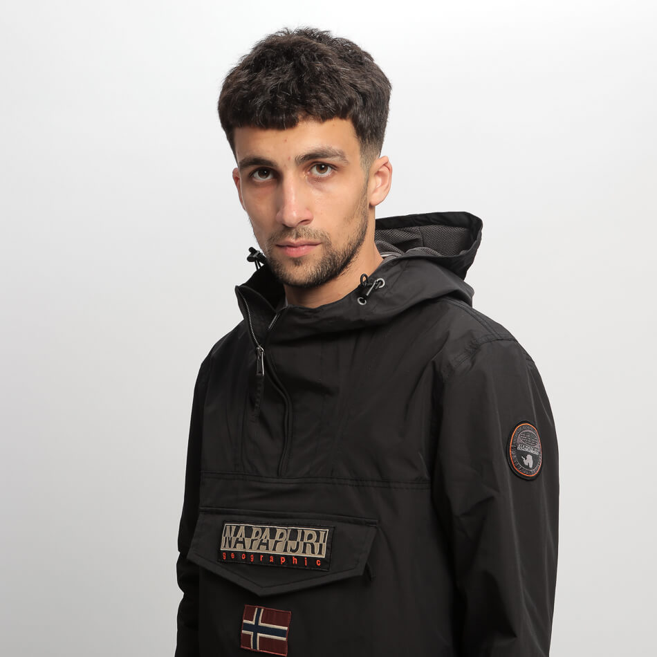 Мужской анорак Napapijri Rainforest Summer 1 (Black)