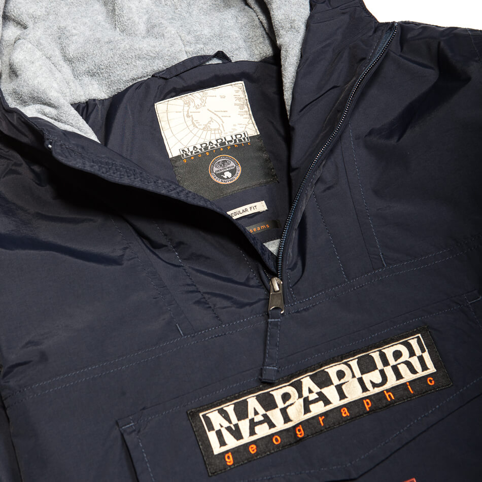 Мужской анорак Napapijri Rainforest Pocket (Blu Marine)
