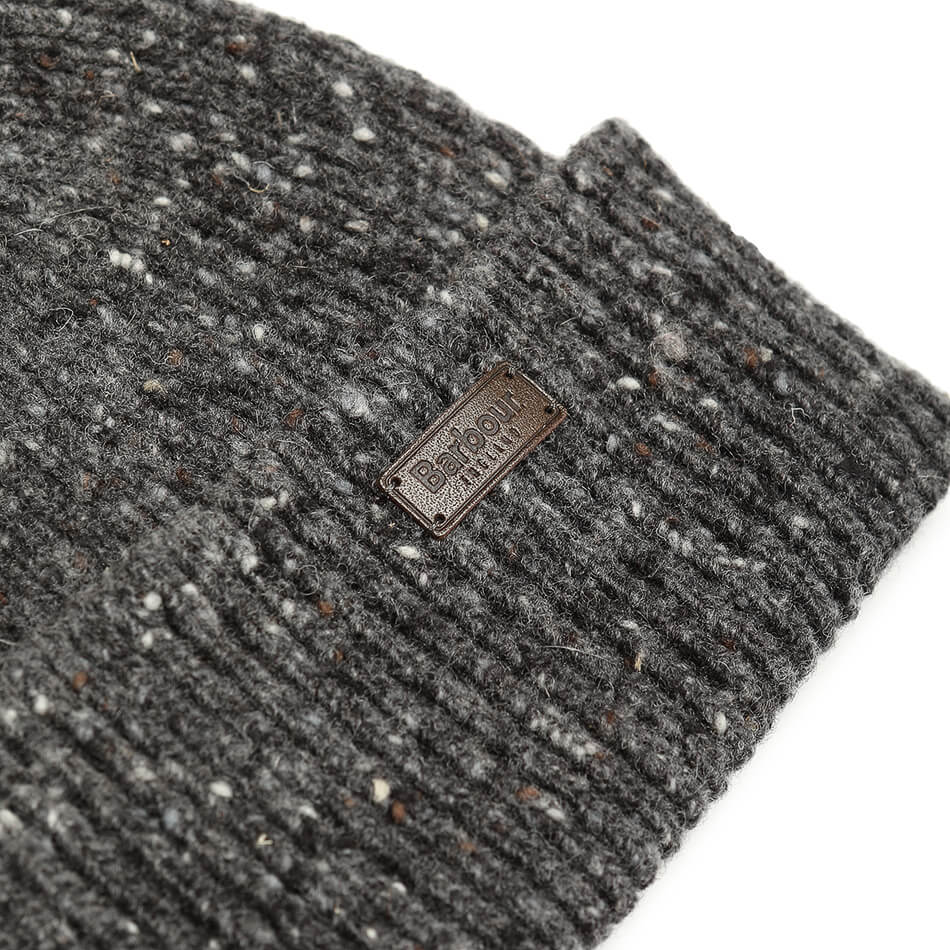 Barbour Lowerfell Donegal Beanie (Charcoal)