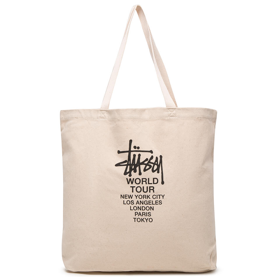 Сумка Stussy Canvas Tour Tote (Natural)