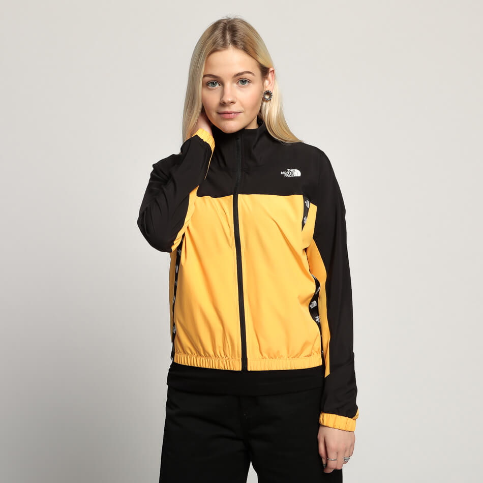 Женская куртка The North Face TNL Wind (Yellow - Black)