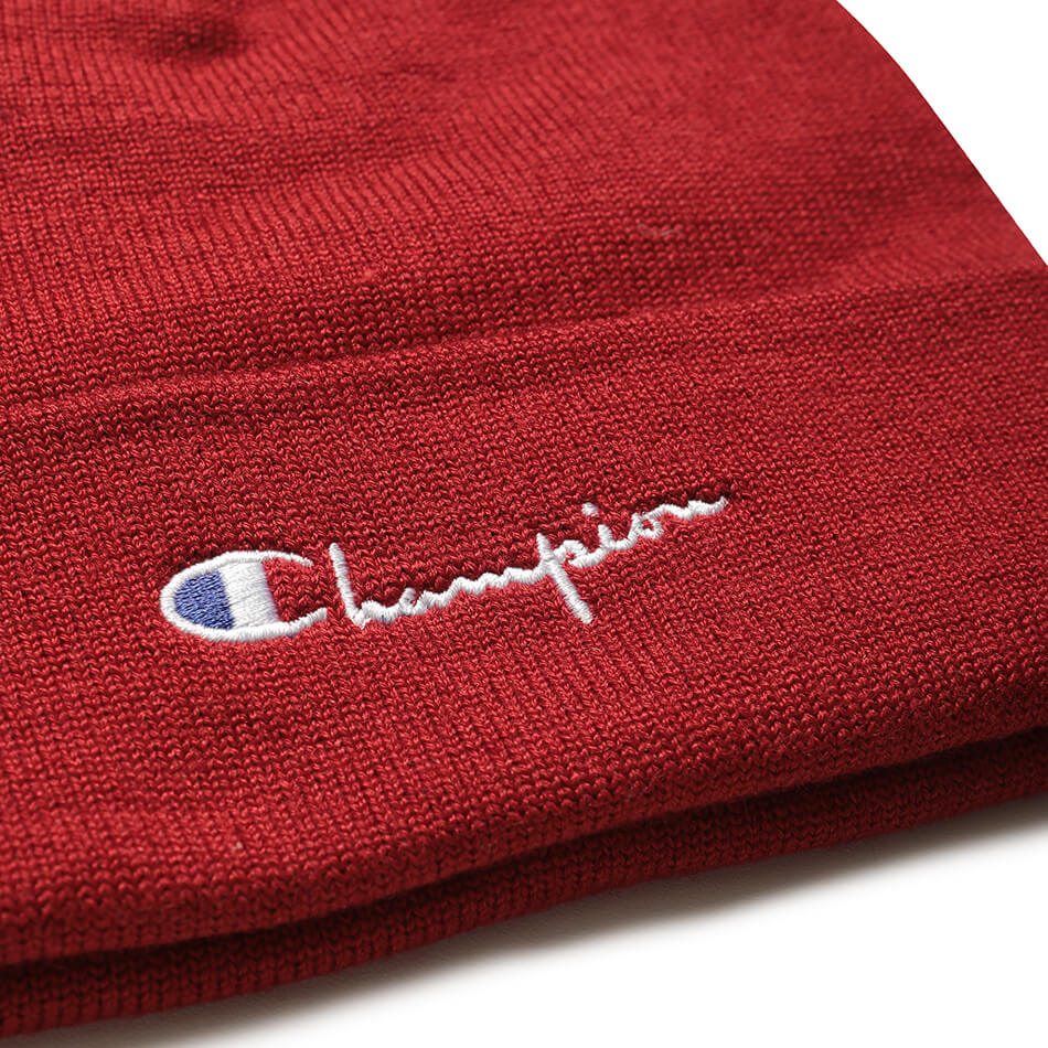 Шапка Champion Reverse Weave Beanie Cap Small Logo (Red)