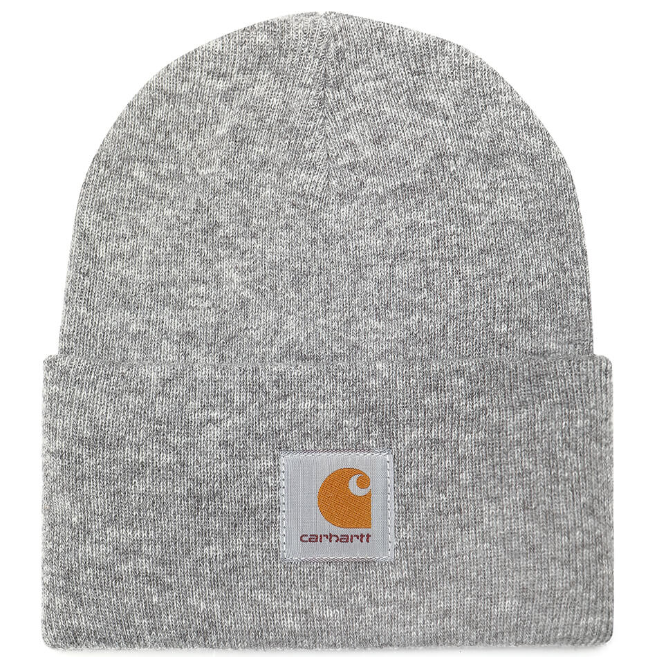 Carhartt WIP Acrylic Watch Hat (Grey Heather)