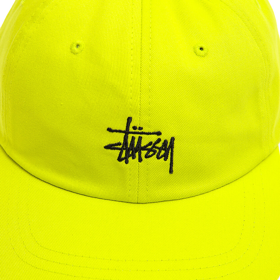 Кепка Stussy Stock Low Pro (Lime)