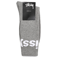 Носки Stussy Jacquard Logo (Grey Heather)