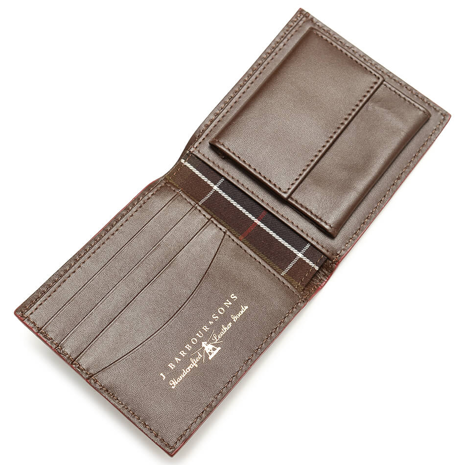 Кошелек Barbour Leather Billfold (Brown)