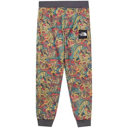 Мужские брюки The North Face Fine (Leopard Yellow Genesis Print)