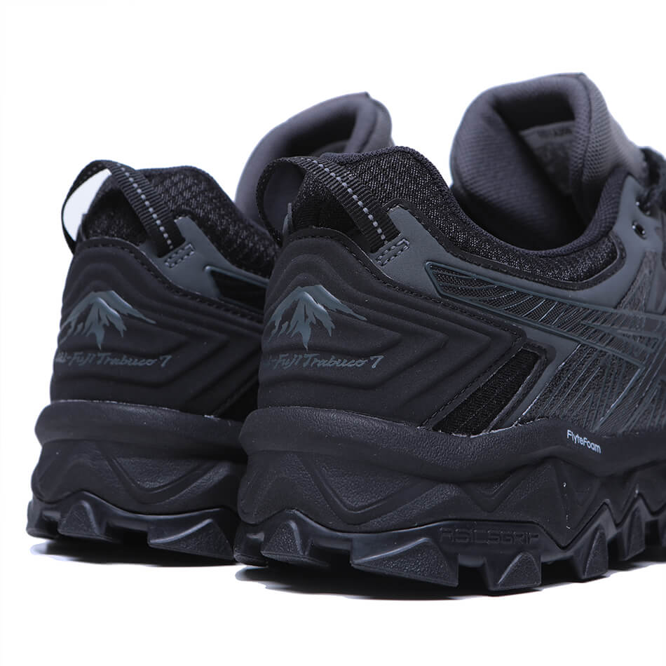 Мужские кроссовки Asics Gel-Fujitrabuco 7 G-TX (Black - Dark Grey)