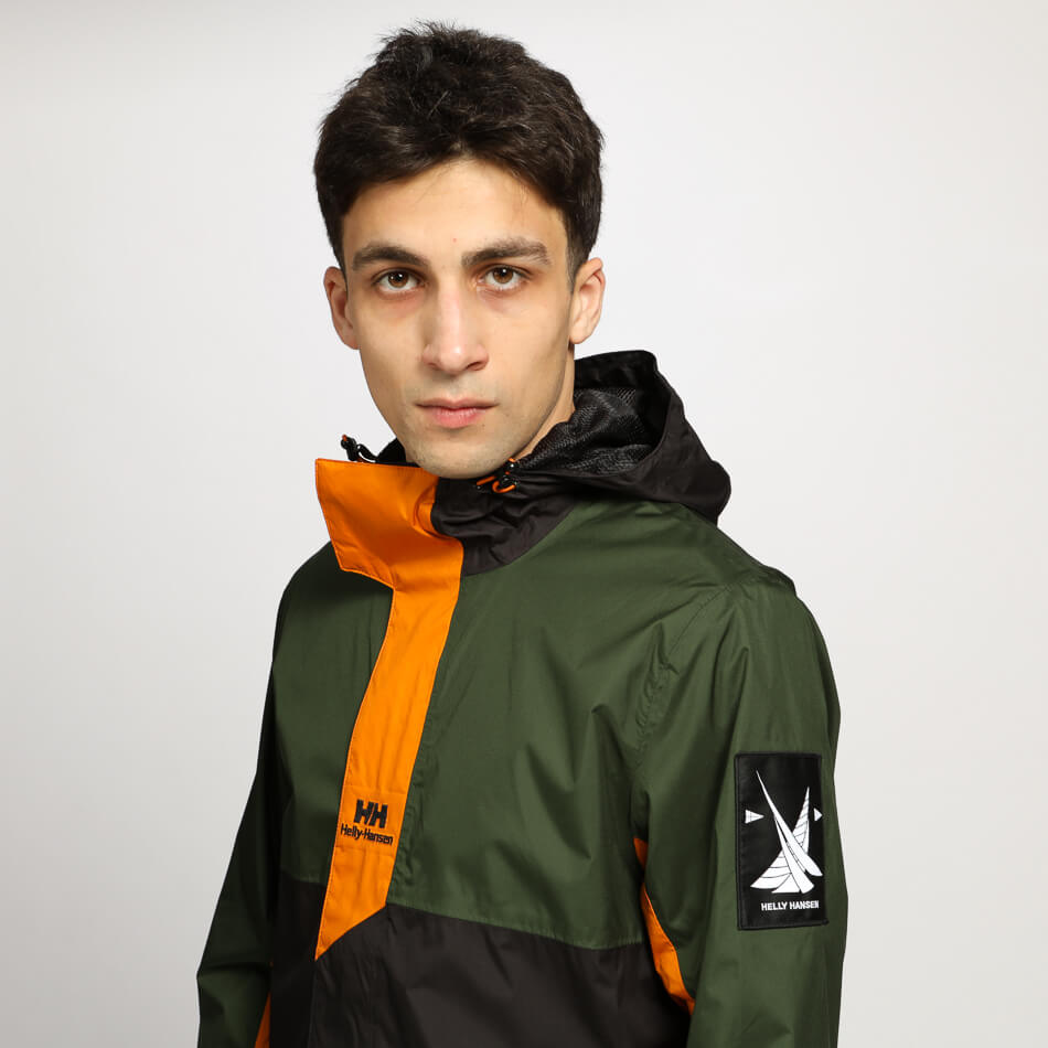 Мужская куртка Helly Hansen YU Rain (Mountian Green)