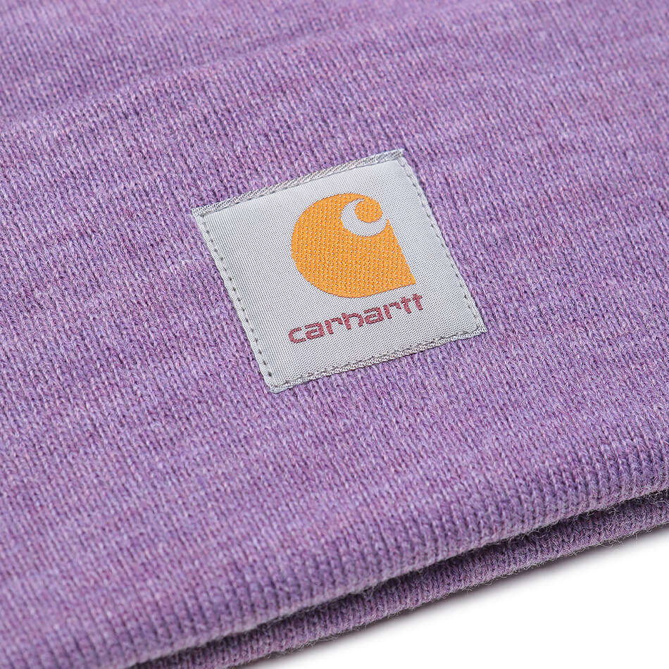 Шапка Carhartt WIP Acrylic Watch (Dusty Mauve Heather)