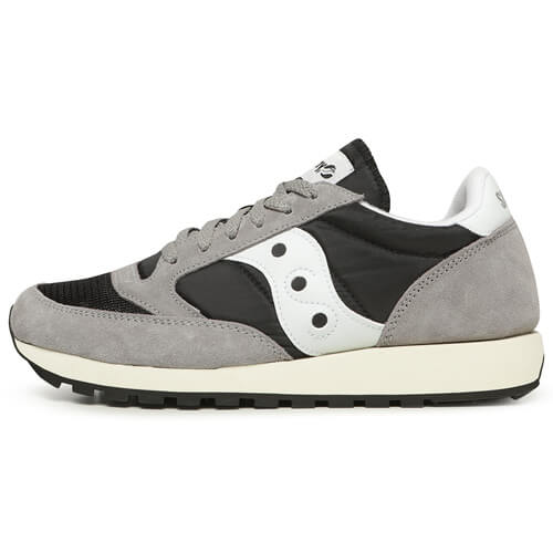 Мужские кроссовки Saucony Jazz Original Vintage (Grey - Black)