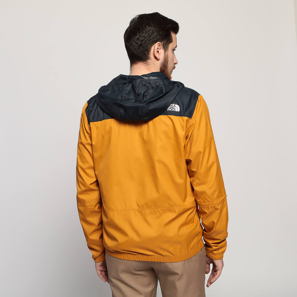 Мужская куртка The North Face Mountain 1990 (Citrine Yellow - Urban Navy)