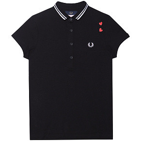 Женское поло Fred Perry Amy (Black)