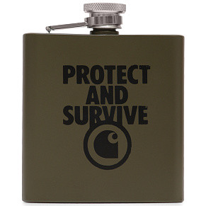 Фляга Carhartt WIP Protect And Survive Whiskey (Cypress)