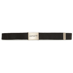 Ремень Carhartt WIP Clip Chrome (Black)