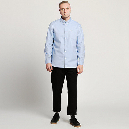 Мужская рубашка Fred Perry Oxford (Light Smoke)